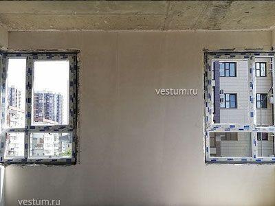 """2-комнатная квартира 69.2 м² в ЖК """"Синее море"""""""