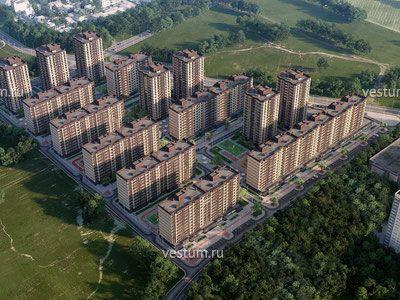 """2-комнатная квартира 62 м² в ЖК """"Кутузовский"""", очередь 2 Жилой комплекс"""