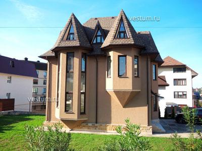 Дом 212 м² с участком 6 сот.