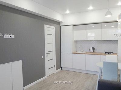 """3-комнатная квартира 82.7 м² в ЖК """"Тюльпановка"""", дом 14 вариант отделки"""