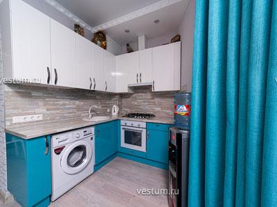 2-комнатная квартира 57 м² в ЖК на ул. Клубничная, 15б