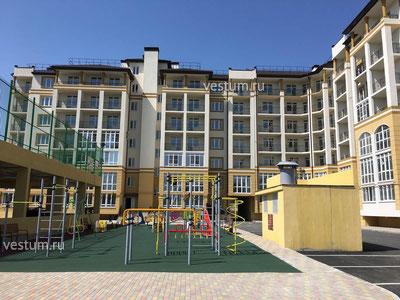 """2-комнатная квартира 74.04 м² в ЖК """"Ривьера"""", литер 10"""