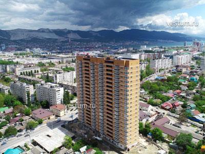 """1-комнатная квартира 43.7 м² в ЖК """"Центр"""""""