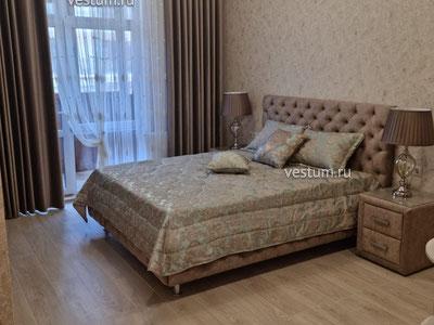 """1-комнатная квартира 49 м² в ЖК """"Изумрудный город"""", литер 2"""