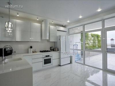 "3-комнатные апартаменты 132 м² в ЖК ""Лазурный берег"", блок А1"